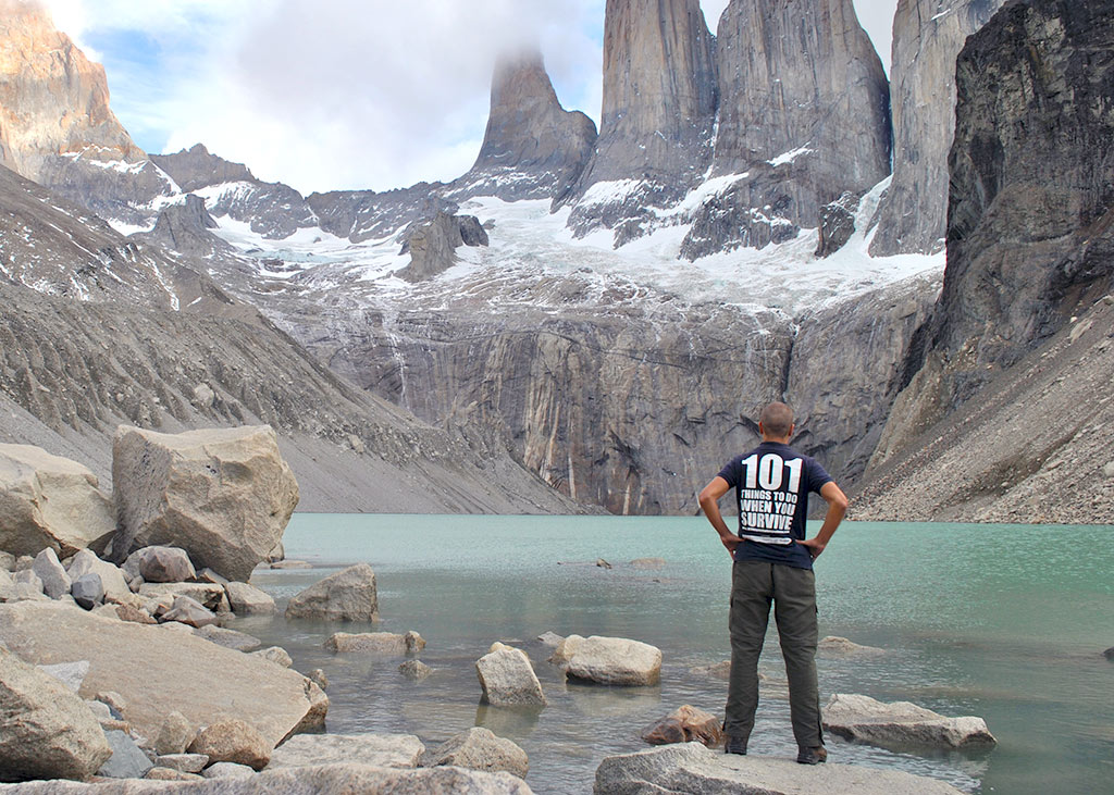 paine torres del chile hike